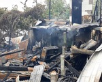 Hỏa hoạn thiêu rụi 3 nhà dân, thiệt hại gần nửa tỷ đồng