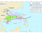 Bão Goni đi vào biển Đông thành cơn bão số 10, cường độ đã suy giảm