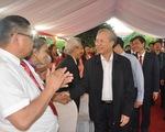 Thường trực Ban Bí thư chúc mừng ngày 20/11 các thầy cô giáo ở Yên Bái