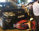 Tài xế Fortuner gây tai nạn liên hoàn trên phố vi phạm nồng độ cồn