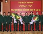 Trao quyết định bổ nhiệm 2 Thứ trưởng Bộ Quốc phòng