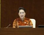 Chủ tịch Quốc hội Nguyễn Thị Kim Ngân trả lời chất vấn trước Quốc hội