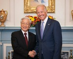 Tổng Bí thư, Chủ tịch nước và Thủ tướng gửi điện chúc mừng ông Joe Biden