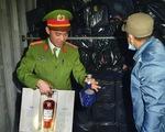 Bắt xe container chở hơn 1.500 chai rượu ngoại nhập lậu, trị giá 1,7 tỷ đồng