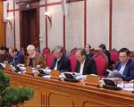 Bộ Chính trị chỉ đạo hoàn thiện các dự thảo văn kiện