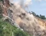 Nổ mìn khai thác đá ở Thái Nguyên, người dân nơm nớp lo sợ