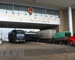 Hàng hóa thông suốt tại các cửa khẩu