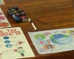 Học sinh Nghệ An thi vẽ tranh phòng chống dịch COVID-19