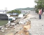 Cà Mau thống nhất phương án khắc phục sụt lún đê biển Tây