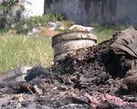 Bức xúc với nạn đốt trộm rác thải công nghiệp