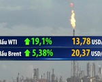 Giá dầu WTI bật tăng mạnh