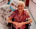Cụ bà 101 tuổi chiến thắng ung thư và 2 đại dịch - ảnh 1