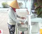 Máy 'ATM gạo' miễn phí trong mùa dịch COVID-19