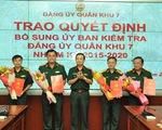 Công bố quyết định của Ban Thường vụ Quân ủy Trung ương về công tác cán bộ