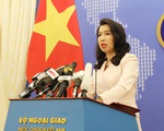Việt Nam lên tiếng việc Mỹ gửi thư tới LHQ phản đối yêu sách của Trung Quốc ở Biển Đông