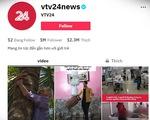 TikTok vtv24news - 'Vựa muối' của VTV Digital cán mốc 1 triệu người theo dõi