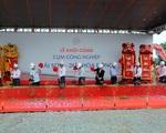 Khởi công cụm công nghiệp Hải Sơn - Đức Hòa Đông với tổng đầu tư 1.400 tỷ đồng