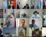 Hội đồng Bảo an LHQ họp trực tuyến về ứng phó COVID-19
