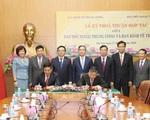 Ban Kinh tế Trung ương - Ban Đối ngoại Trung ương ký thỏa thuận hợp tác