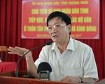 Miễn nhiệm chức Chủ tịch UBND tỉnh Quảng Ngãi với ông Trần Ngọc Căng