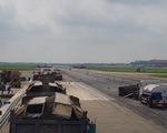 Vượt tiến độ 8 tháng sửa chữa đường băng sân bay Nội Bài