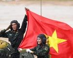 Ảnh: Đội tuyển Xe tăng QĐND Việt Nam giành ngôi nhì bảng ở Army Games 2020