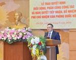 Chân dung tân Phó Chủ nhiệm Văn phòng Quốc hội Trần Sỹ Thanh
