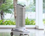 Trường đại học chế tạo robot khử khuẩn đa năng 'Made in Vietnam'