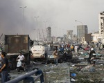 Số người thiệt mạng trong vụ nổ kinh hoàng ở Lebanon tăng lên hơn 100