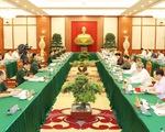 Bộ Chính trị cho ý kiến chuẩn bị Đại hội Đảng bộ Quân đội