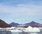 Dùng vải lông cừu bảo vệ bề mặt sông băng - ảnh 1