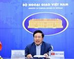 Bộ trưởng Bộ Ngoại giao Phạm Bình Minh dự Hội nghị hẹp Bộ trưởng Ngoại giao ASEAN