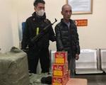 Bắt giữ đối tượng vận chuyển 250kg pháo nổ từ Bắc Ninh về Hà Nội