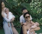 Hồ Ngọc Hà khoe ảnh gia đình đẹp như tranh