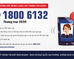 Truy vết COVID-19: Thành lập đường dây nóng 18006132 ứng dụng công nghệ tổng đài thông minh