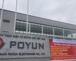 Xét nghiệm COVID-19 toàn bộ công nhân Công ty Poyun để quyết định việc đi làm trở lại