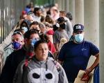 Số đơn xin trợ cấp thất nghiệp ở Mỹ liên tục giảm