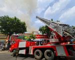 Cháy tại trung tâm quận 1, sơ tán học sinh một trường cấp 3