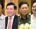 Miễn nhiệm Phó Thủ tướng Trịnh Đình Dũng và 12 Bộ trưởng, trưởng ngành