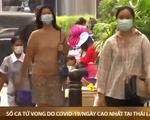 Số ca tử vong do COVID-19 theo ngày cao nhất tại Thái Lan