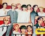 Butter của BTS dẫn đầu BXH âm nhạc của Nhật Bản