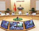 Thủ tướng họp trực tuyến 19 tỉnh, thành phía Nam về công tác phòng, chống dịch COVID-19