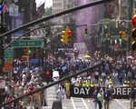 Diễu hành tôn vinh những người hùng chống dịch tại New York
