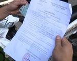 Hà Nội: Phát hiện xe chở khách vượt chốt bằng giấy đi đường khống - ảnh 3
