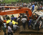 Sạt lở đất, hơn 19 người thiệt mạng ở đảo Java