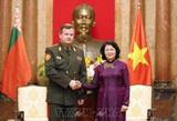 Vietnam, Belarus promote national defense cooperation