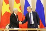 Vietnamese and Russian leaders exchange greetings on friendship anniversary