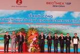Construction of US$143-million industrial park begins in Binh Dinh