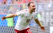 Vô lê ghi bàn đẹp ở FIFA World Cup™ 2018, Eriksen thành truyền nhân của Michael Laudrup