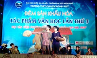 Literary works performed on stage